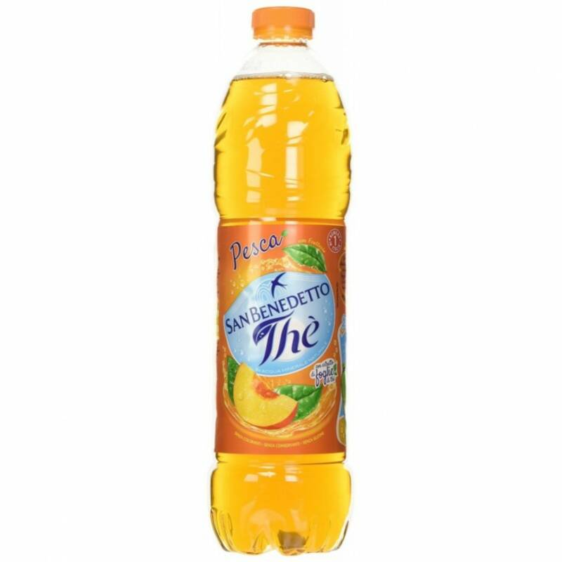 IJsthee pesca 1,5ltr. - San Benedetto