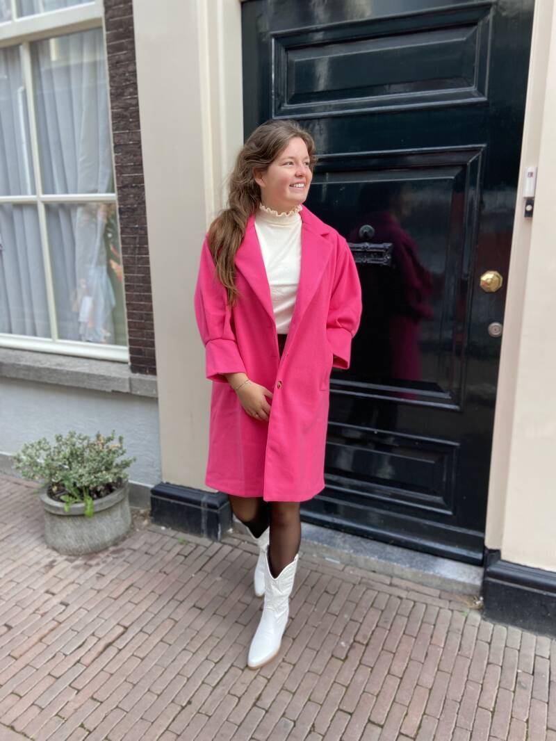 Luxe Pink jacket
