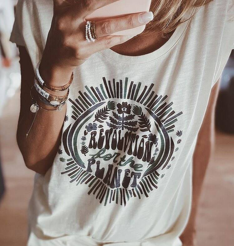 REVOLUTION FOR THE PLANET TEE