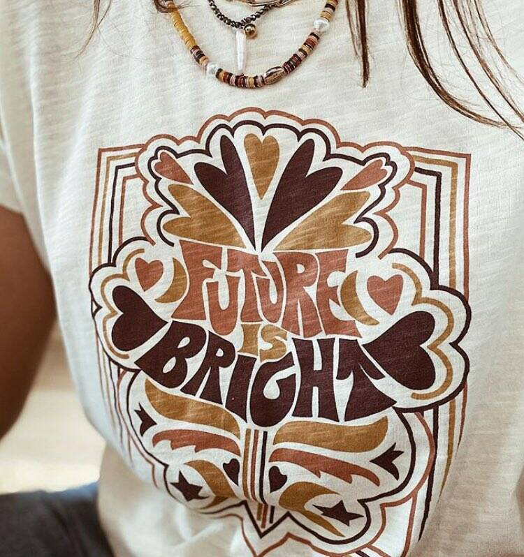 FUTURE IS BRIGHT TEE