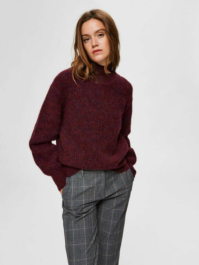 RED WINE KNIT