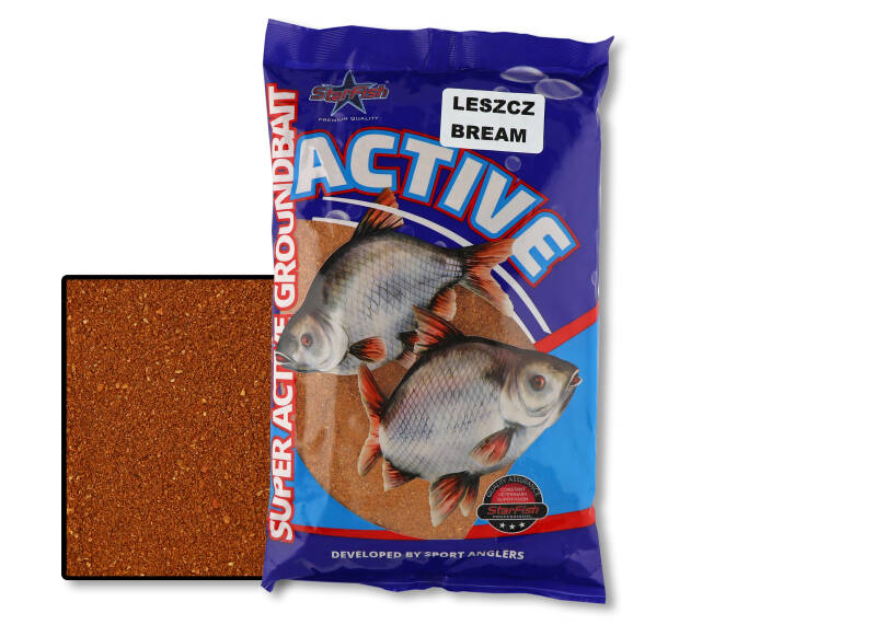 10 st. Starfish Active - bream 650 gr.