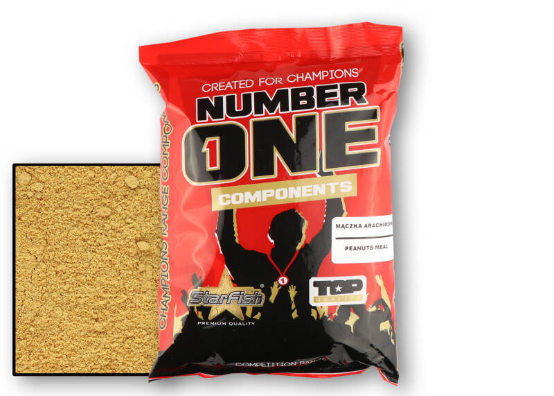 10 st. Starfish Components - peanuts meal 400 gr.