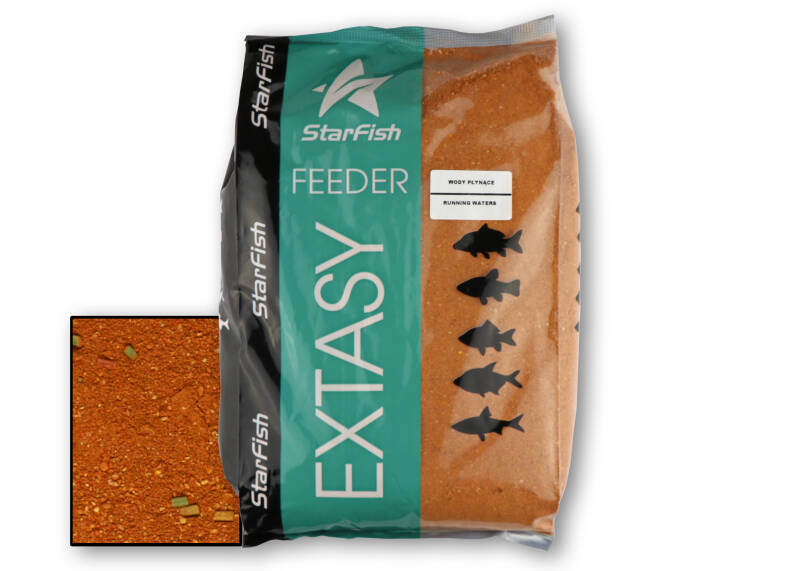 5 st. Starfish Feeder Extasy - running waters 2,5 kg.