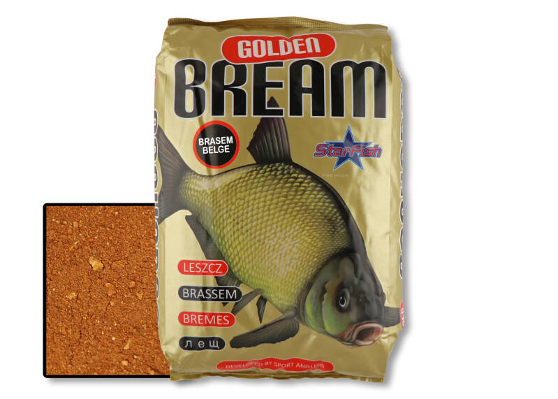 5 st. Starfish Golden Bream - brasem belge 2,5 kg.
