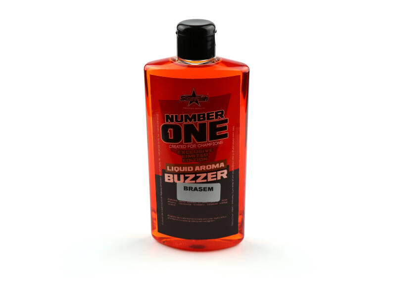 10 st. Starfish Liquid Buzzer - brasem 250 ml.