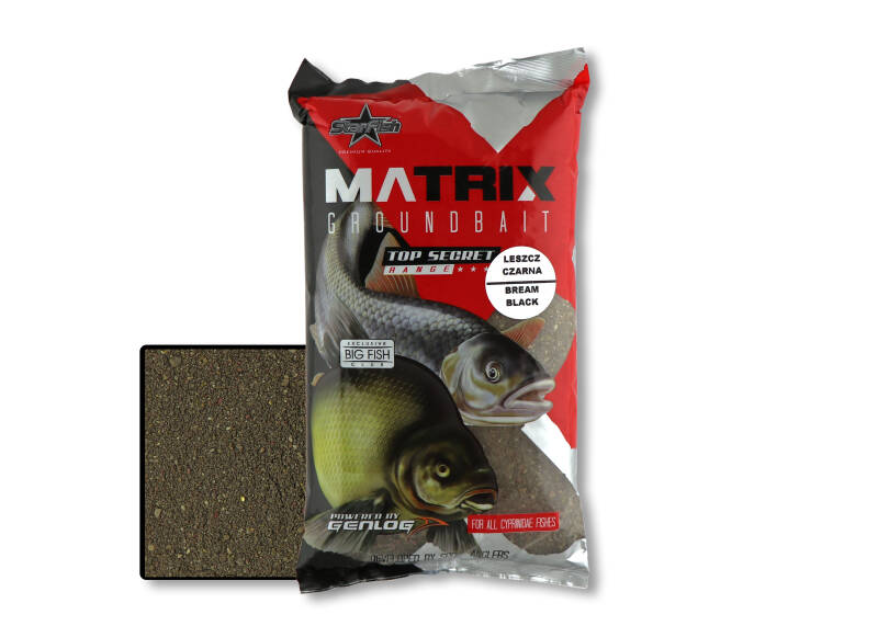 10 st. Starfish Matrix Bream - black 1 kg.