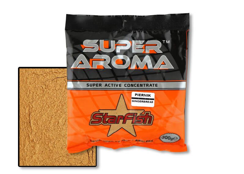 10 st. Starfish Super Aroma Additive - gingerbread 300 gr.