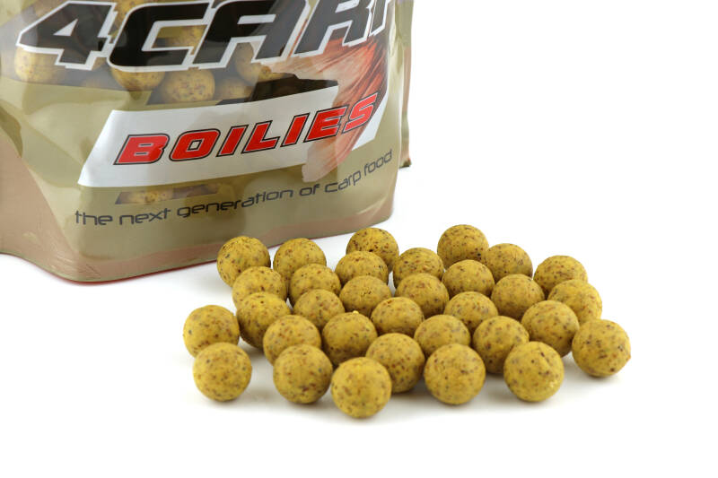 10 st. Starfish Tactical Boilies 16mm - banana 1 kg.