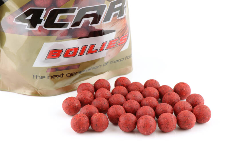 10 st. Starfish Tactical Boilies 16mm - strawberry 1 kg.