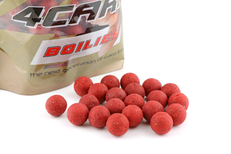 10 st. Starfish Tactical Boilies 20mm - strawberry 1 kg.