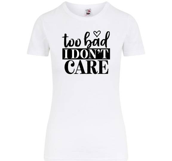 To bad.. i dont care