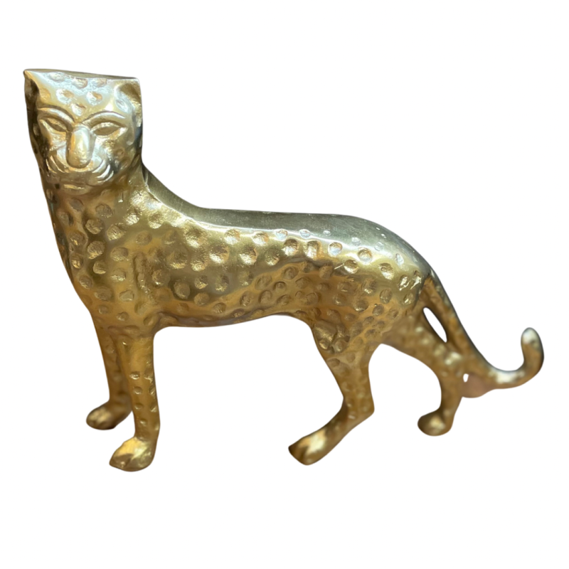 STATUE PANTHER GOLD