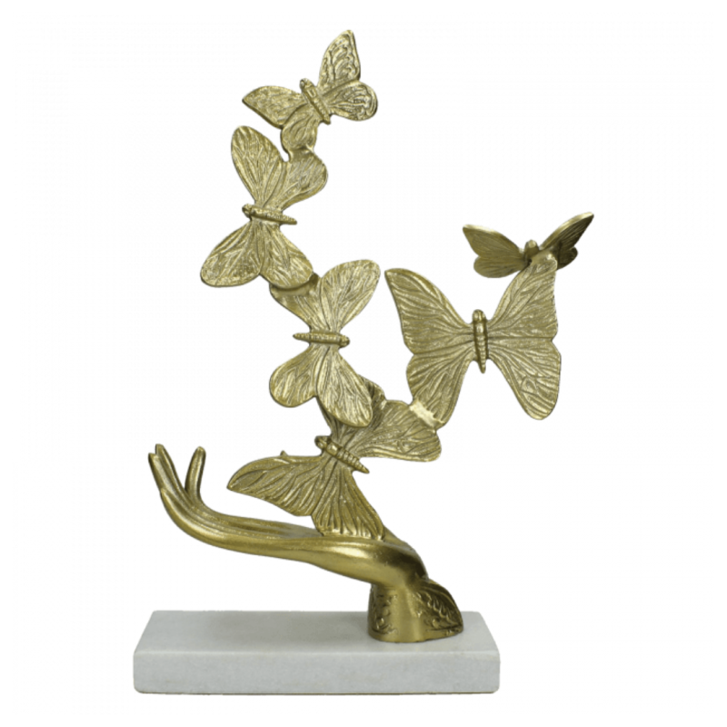ORNAMENT HAND BUTTERFLY