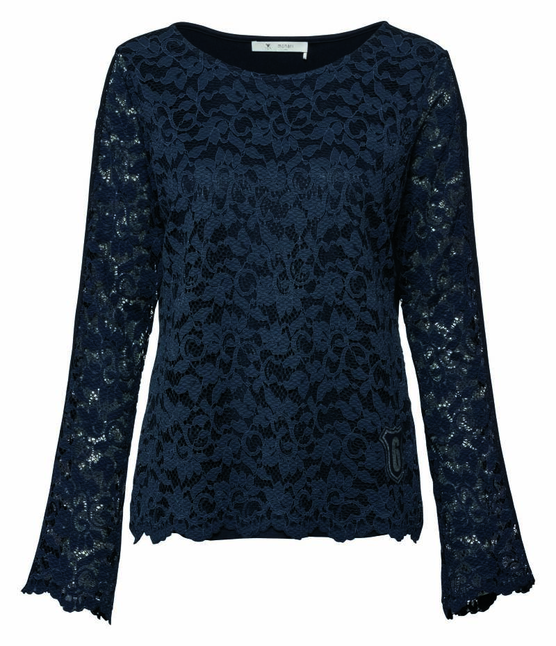 Monari t-shirt New York 404199 navy - 002980