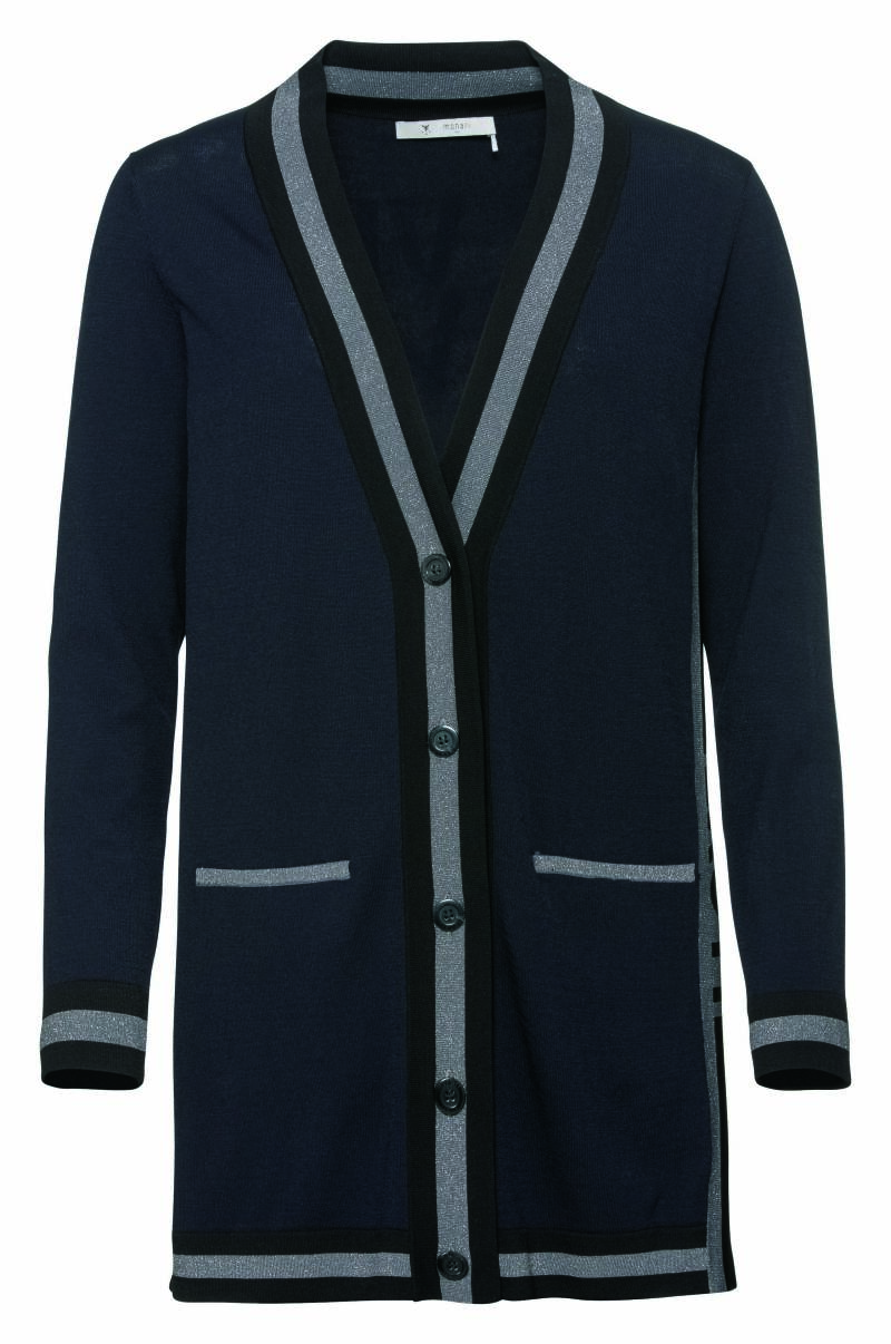 Monari cardigan New York 404270 navy - 002982