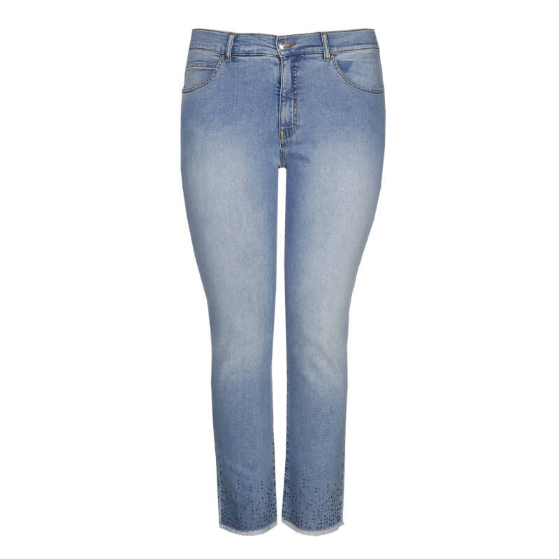 Xandres Gold jeans met strass X-CAROLYN.Strass - 004008
