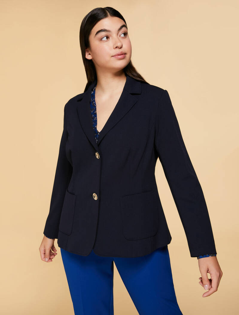 Outlet! N.O.W. by Persona jersey blazer OMEN navy -  004562