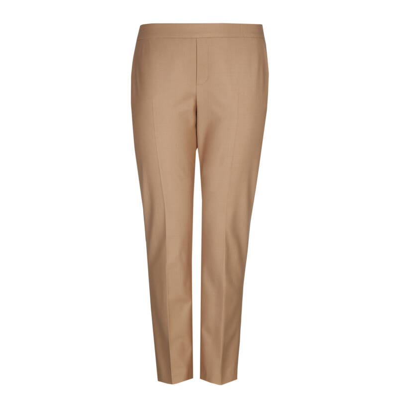 Xandres Gold beige slim fit broek X-PERRINE caramel - 004360