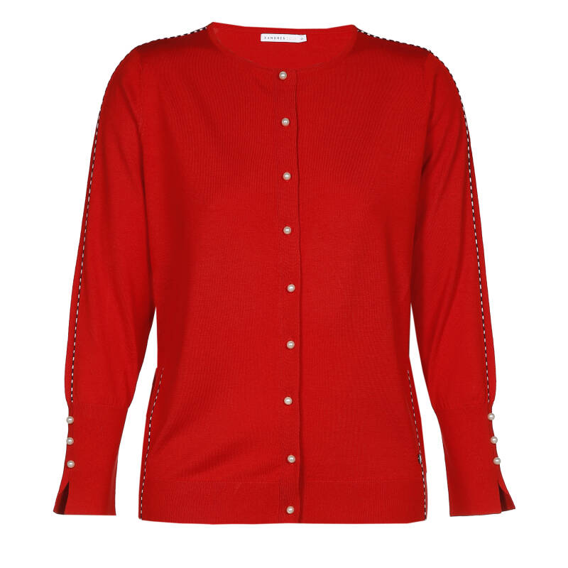 Xandres Gold cardigan X-GERSON rood- 003210