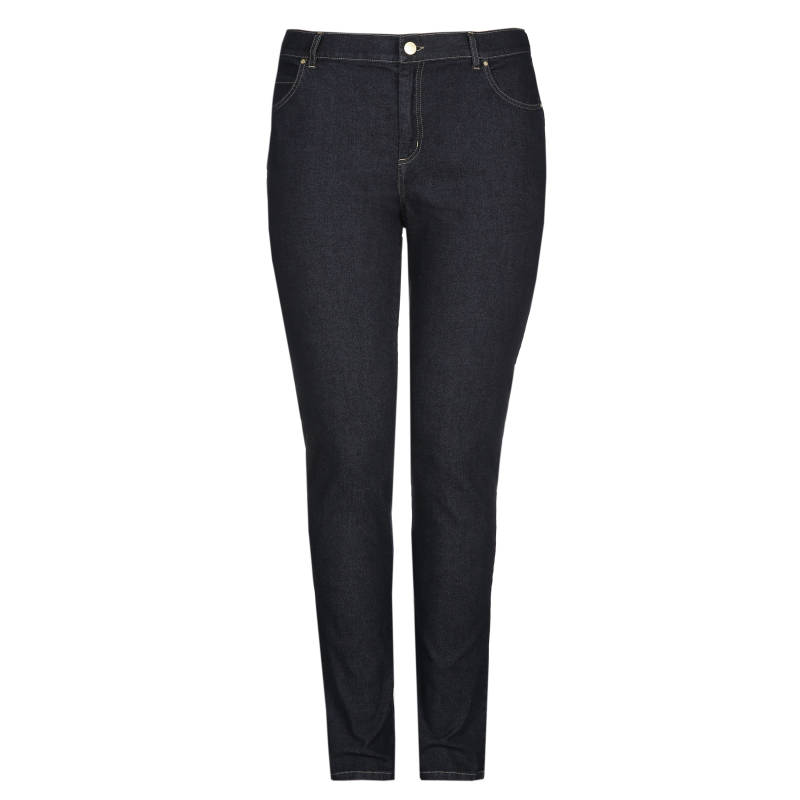 Xandres Gold jeans X-CAROLYN/ESS  donker blauw - 003623