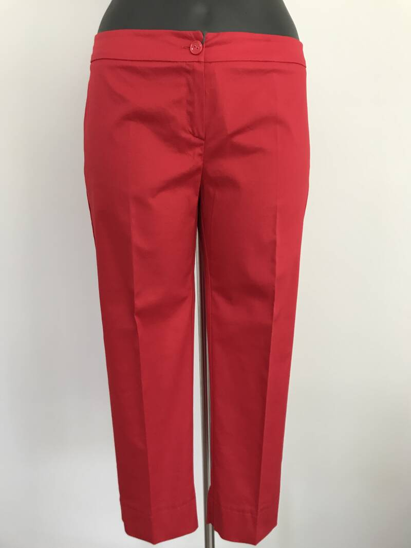 Outlet. Persona by Marina Rinaldi  halflange broek  RO rood - 003299
