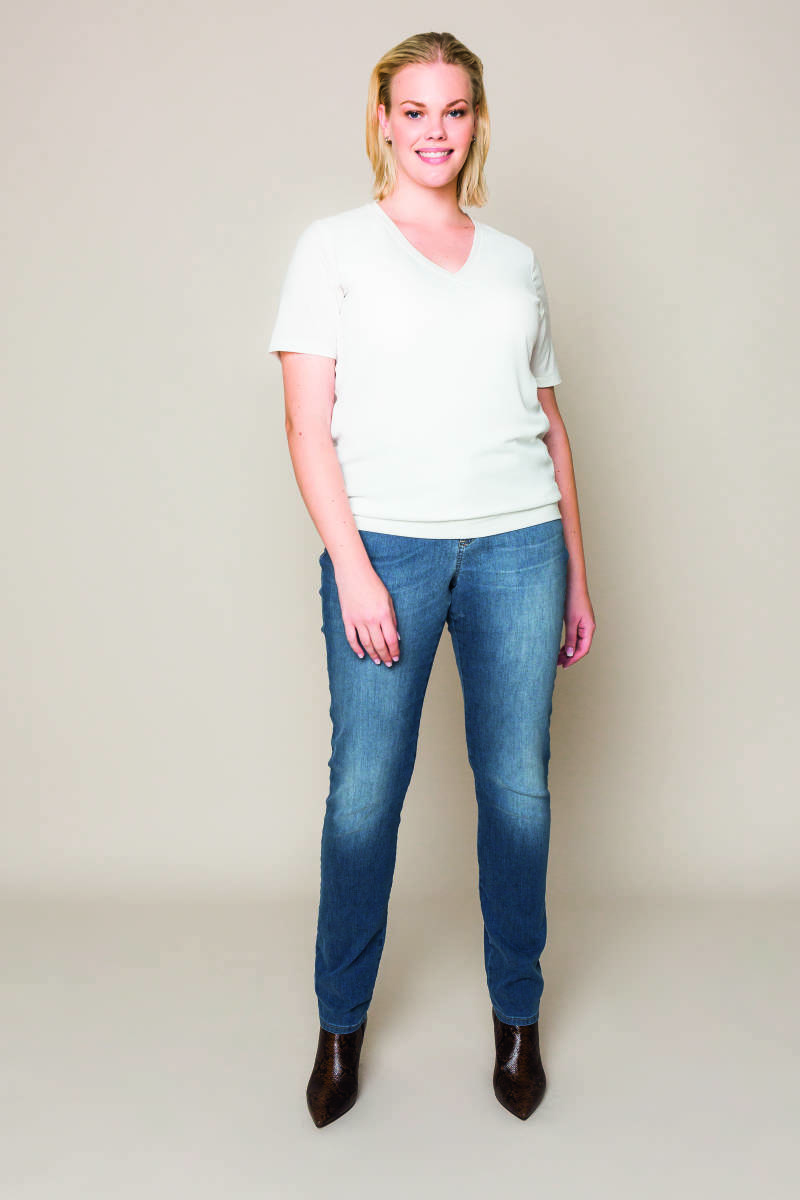 Xandres Gold jeans X-CAROLYN/ESS  vintage wash- 003982
