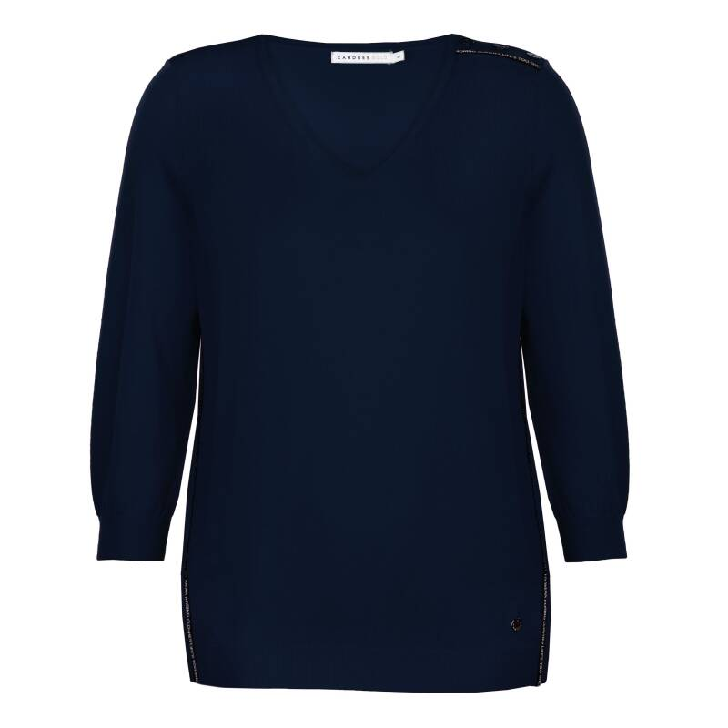 Xandres Gold - pull X-GEROME navy- 003183