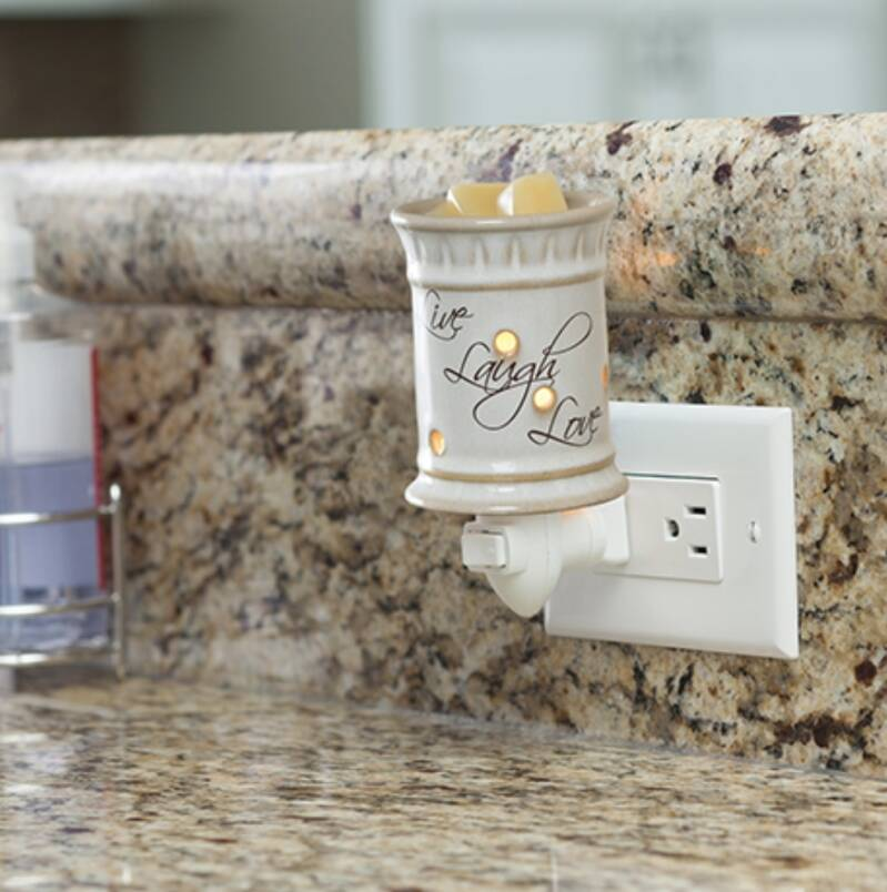 Candle warmer Plug-in Live Laugh Love