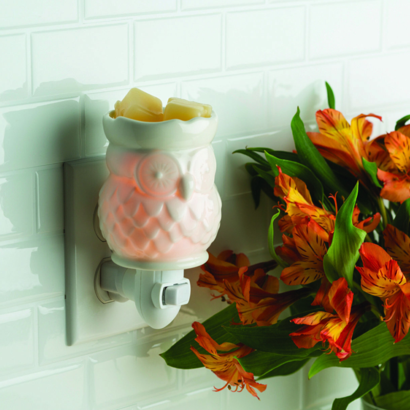 Candle warmer Plug-in Witte Uil