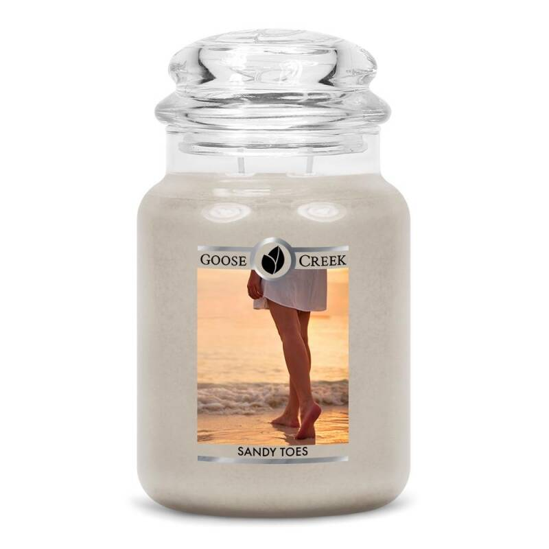 Sandy Toes Candle Jar