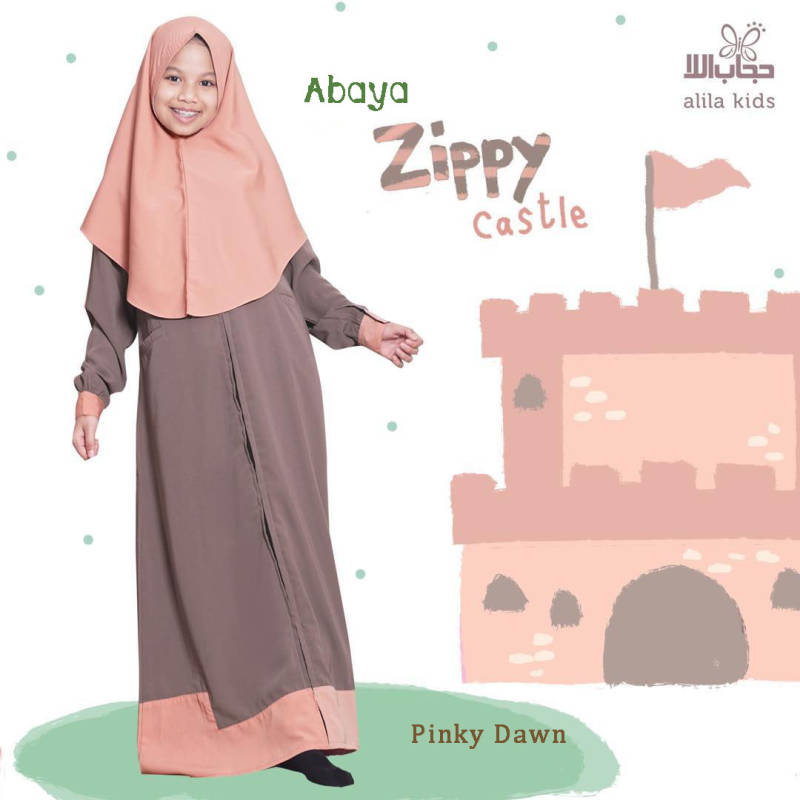 Set Abaya KIds l Zippy Castle