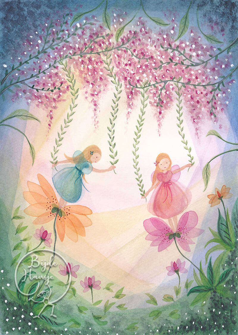 Fairies With Flowers