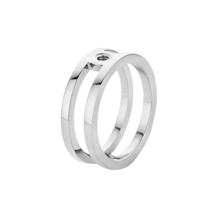 Melano Twisted ring Trista Zilver