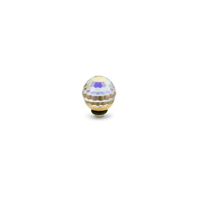 Melano twisted disco ball AB Crystal goud