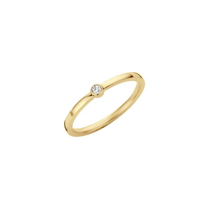 melano friends ring mini goud