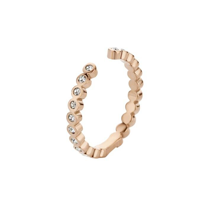 Melano twisted ring tina rosé