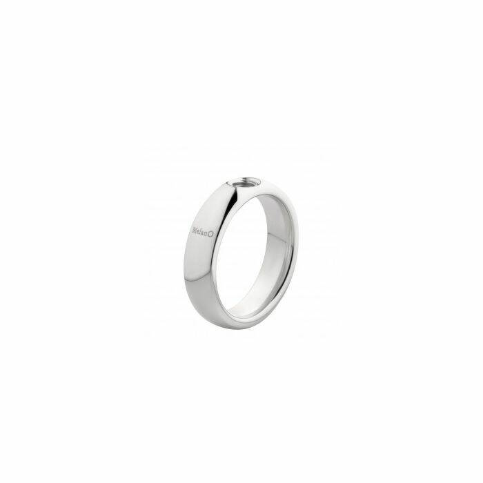 Melano twisted ring tracey zilver
