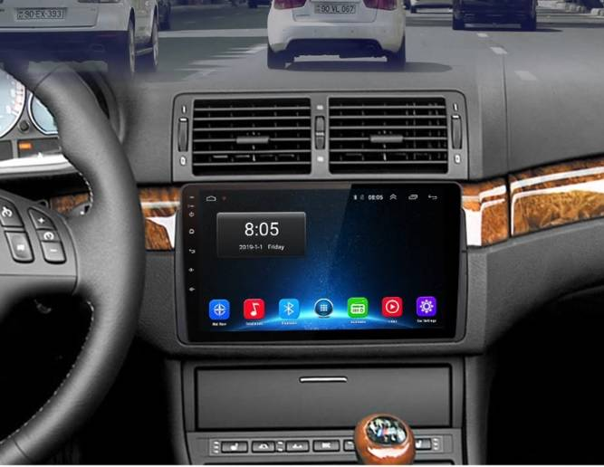 BMW E46 m3 Rover navigatiesysteem android