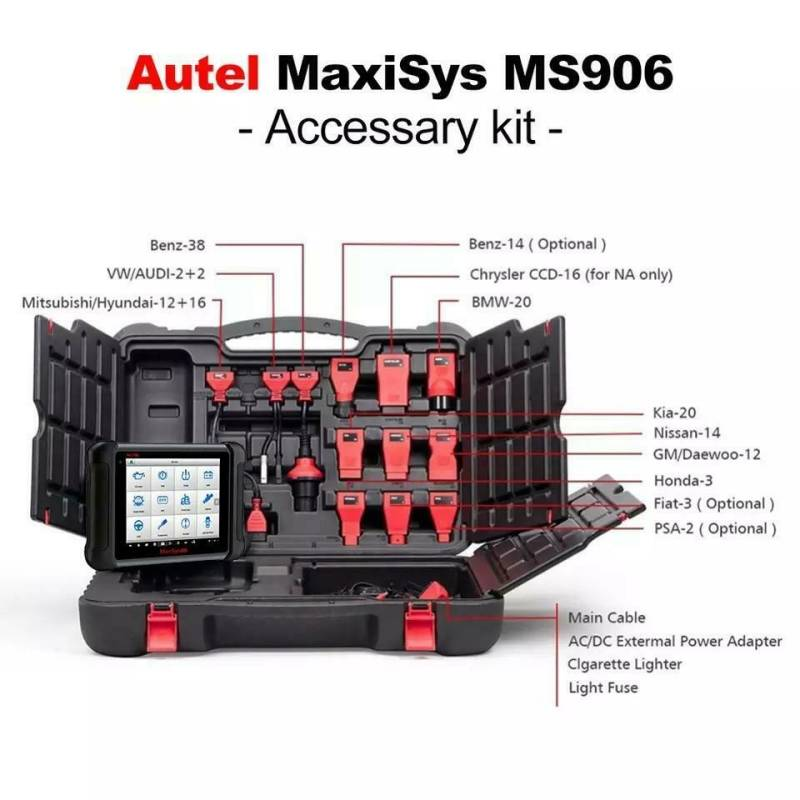 Autel maxysis ms906 of ms906 BT