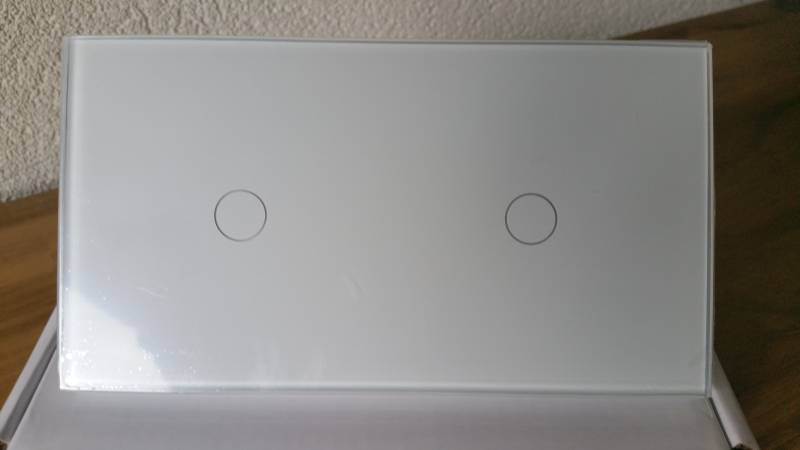 Touch LED REMOTE dimmer 1 + 1 kanaal  WIT