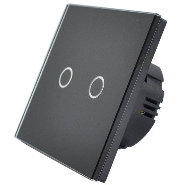 Touch LED REMOTE dimmer 2 kanaal  ZWART