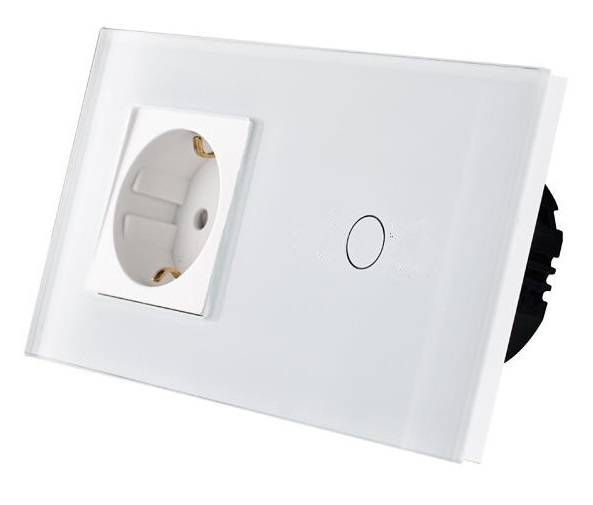 Dimmer remote + stopcontact