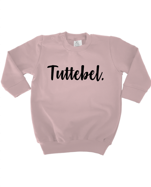 sweaterdress tuttebel roze