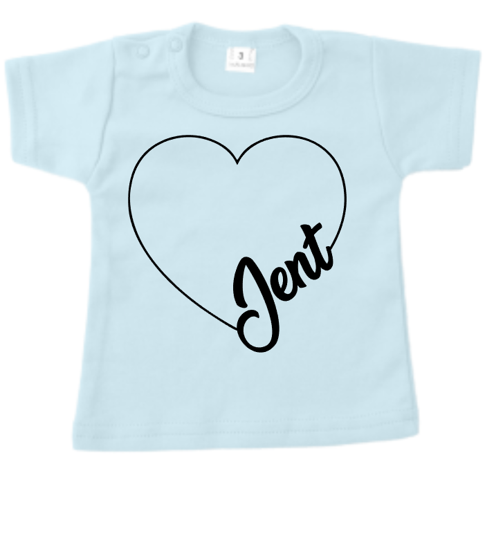 tshirt lovely name pink or  blue