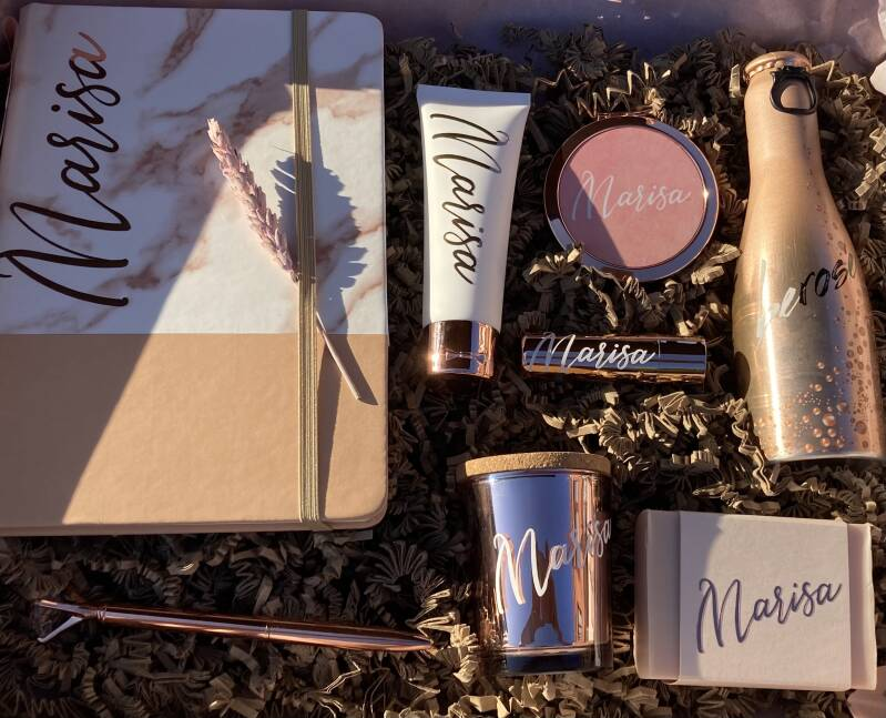 giftbox deluxe rose gold
