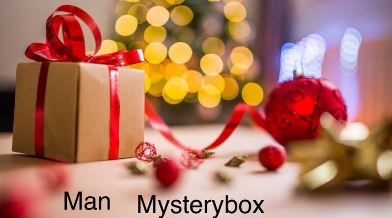 mysterybox kerst man