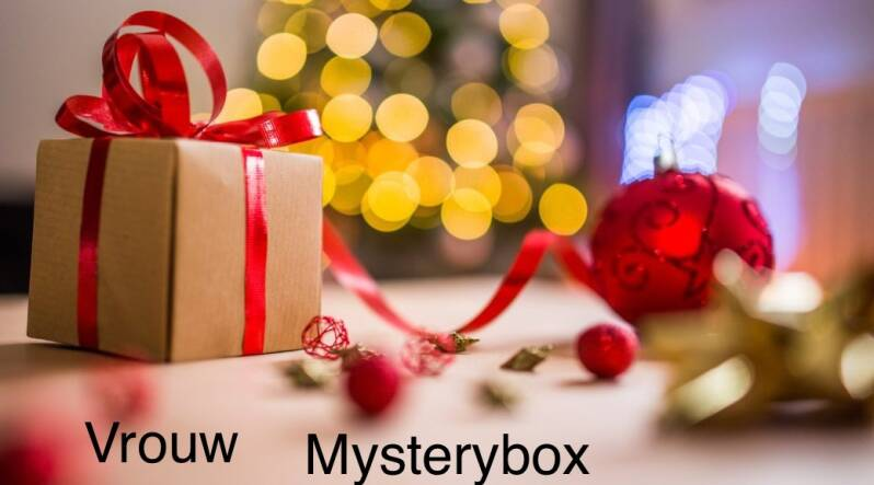 Mysterybox kerst vrouw