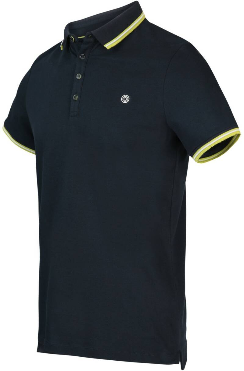 BLUE INDUSTRY POLO navy neon