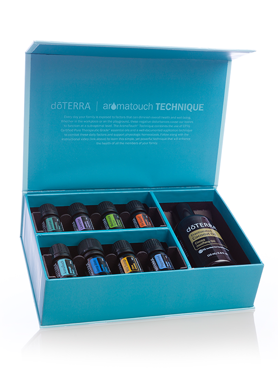 dōTERRA AromaTouch Technique Massage Kit
